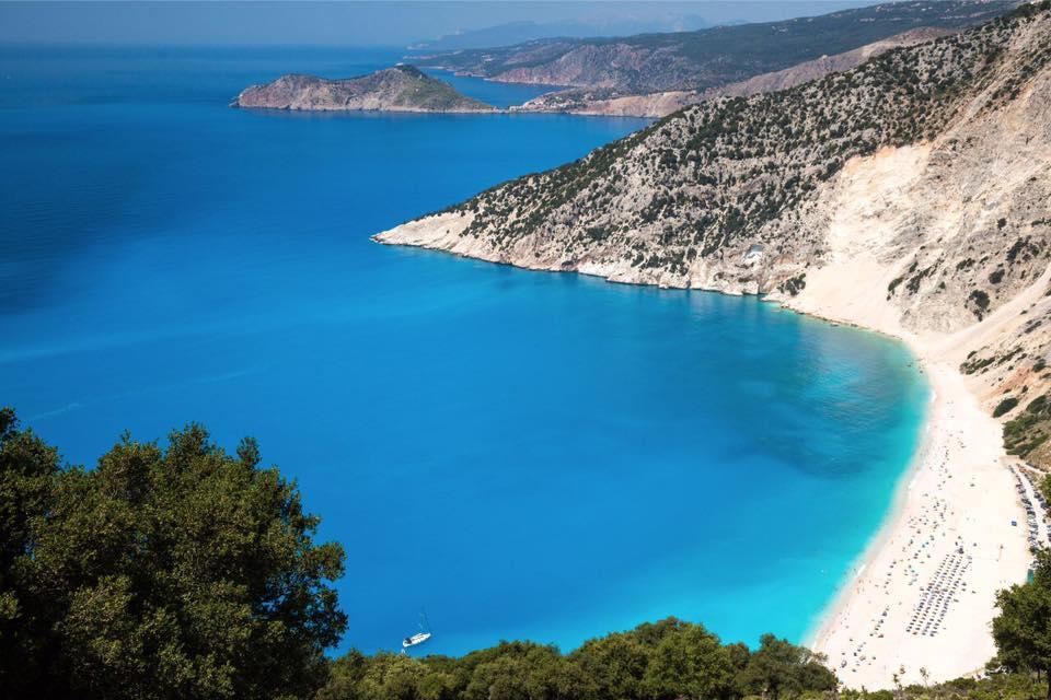Kefalonia - Myrtos Beach, Greece.