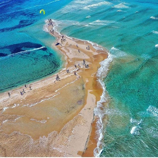 Prasonisi beach Rhodes greek holidays